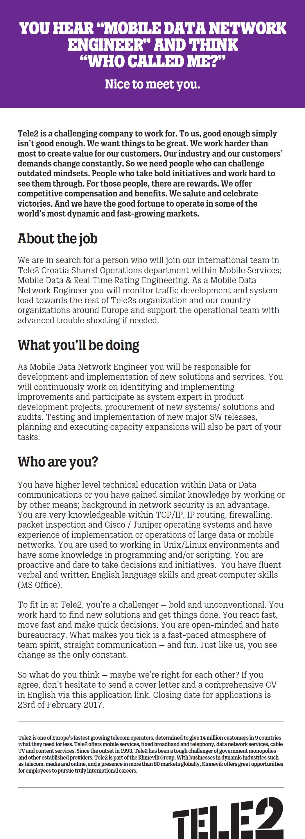 cover letter template for network job cover letter samples - Network Implementation Engineer Sample Resume